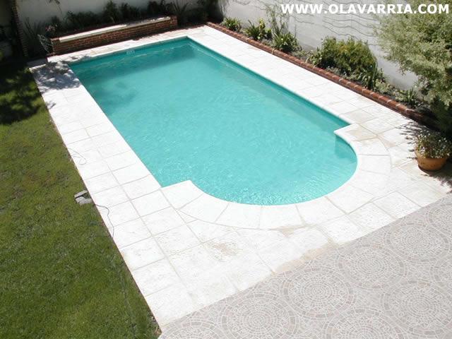 Olavarria com gu a comercial piletas weimann for Fotos de disenos de piletas de natacion